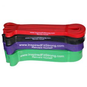Комплект от 4 ластика Inspired Fit Strong