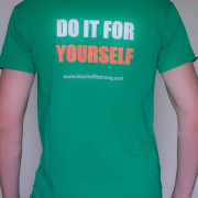 T-Shirt_Do it for yourself_Men_Back