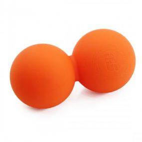 Лакрос Топка за Масаж – Двойна | Цвят – Оранжево