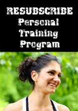 Resubscribe-Personal-Training-Program