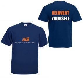 Мъжка Тениска IFS – REINVENT YOURSELF