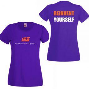 Дамска тениска IFS – REINVENT YOURSELF