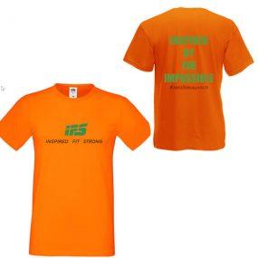 Мъжка Тениска IFS – INSPIRED BY THE IMPOSSIBLE #звездовищност