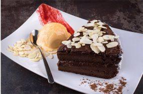 Здравословна рецепта за шоколадова торта