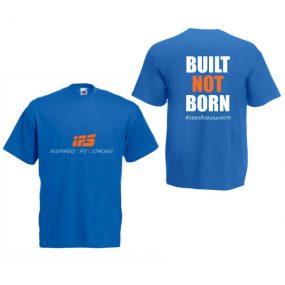 Мъжка тениска IFS – Built Not Born #звездовищност