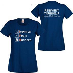 Дамска Тениска IFS – IMPROVE FIGHT SUCCEED