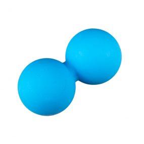 Лакрос Топка за Масаж – Двойна | Цвят – Синьо