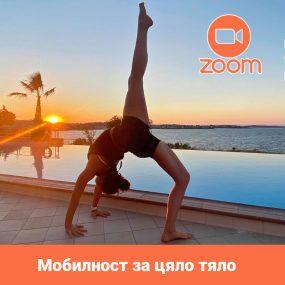 Мобилност за цяло тяло – с Инес (Live в Zoom)| 02.11.2020